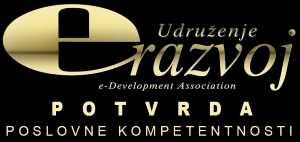 eRazvoj - potvrda poslovne kompetentnosti